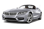 Stock pictures of low aggressive front three quarter view of a 2014 BMW Z4 sDrive35i Lounge 2 Door Convertible 2WD Low Aggressive