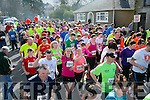At the Start of Kingdom Come 10 miler and 5k race at Castleisland on Sunday