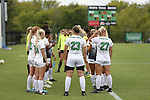 DENTON, TX - SEPTEMBER 30: North Texas Mean Green Soccer vs. UTSA at Mean Green Village Soccer Field in Denton on September 30, 2018 in Denton, Texas Photo Credit - Rick Yeatts Photography/Matt Pearce