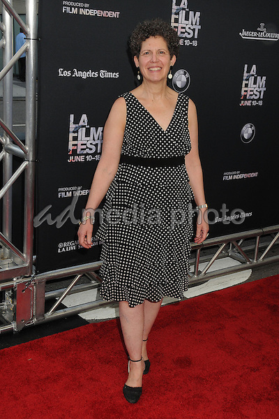 "10 June 2015 - Los Angeles, California - Laurie Kahn. LA Film Festival 2015 Opening Night Premiere of ""Grandma"" held at Regal Cinemas LA Live. Photo Credit: Byron Purvis/AdMedia"