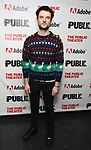 """Tom Sturridge attends the """"Sea Wall / A Life"""" opening night at The Public Theater on February 14, 2019, in New York City."""