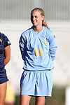 06 September 2013: West Virginia's Sara Keane. The Duke University Blue Devils hosted the West Virginia University Mountaineers at Koskinen Stadium in Durham, NC in a 2013 NCAA Division I Women's Soccer match. The game ended in a 1-1 tie after two overtimes.