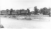 3/4 engineer's-side view of C-19 #343 pulling RPO.<br /> D&amp;RGW
