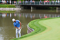 C.T. Pan (TAI) chips on to 17 during Rd4 of the 2019 BMW Championship, Medinah Golf Club, Chicago, Illinois, USA. 8/18/2019.<br /> Picture Ken Murray / Golffile.ie<br /> <br /> All photo usage must carry mandatory copyright credit (© Golffile | Ken Murray)