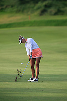 Jessica Korda (USA) in action on the 1st during Round 3 of the HSBC Womens Champions 2018 at Sentosa Golf Club on the Saturday 3rd March 2018.<br /> Picture:  Thos Caffrey / www.golffile.ie<br /> <br /> All photo usage must carry mandatory copyright credit (&copy; Golffile   Thos Caffrey)