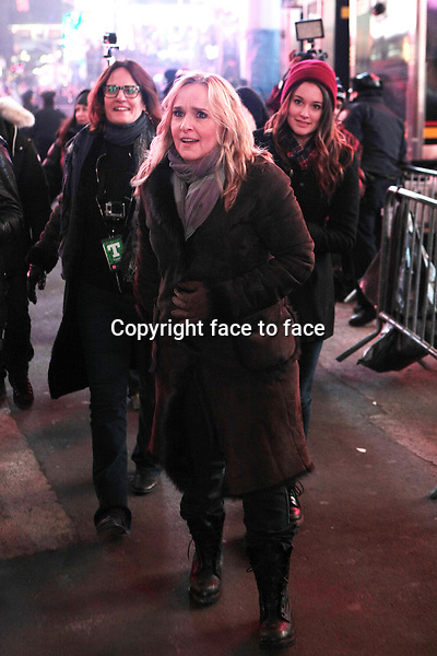New York, NY-December 31: Melissa Etheridge at the 2014 New Years Eve Celebration held in Times Square on December 31, 2013 in New York City.<br />