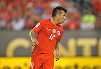 Philadelphia, PA - Tuesday June 14, 2016: Gary Medel during a Copa America Centenario Group D match between Chile (CHI) and Panama (PAN) at Lincoln Financial Field.