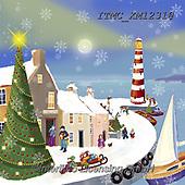 Marcello, CHRISTMAS SYMBOLS, WEIHNACHTEN SYMBOLE, NAVIDAD SÍMBOLOS, paintings+++++,ITMCXM1231@,#xx# ,lighthouse