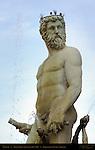 Fountain of Neptune Ammannati Piazza della Signoria Florence
