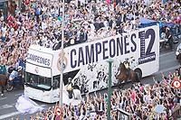 Real Madrid celebrates 13th UEFA Championship.