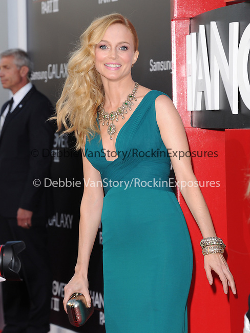 Heather Graham at The Warner Bros. Pictures' L.A Premiere of  THE HANGOVER: PART III held at The Westwood Village Theater  in Westwood, California on May 20,2013                                                                   Copyright 2013 © Hollywood Press Agency