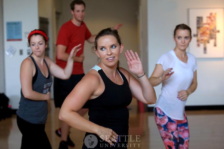 08212014- Seattle University URec fitness<br /> <br /> Zumba Class