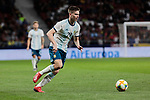Argentina's Juan Foyth during International Adidas Cup match between Argentina and Venezuela at Wanda Metropolitano Stadium in Madrid, Spain. March 22, 2019. (ALTERPHOTOS/A. Perez Meca)