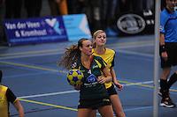 KORFBAL: GORREDIJK: Sport- en Ontspanningscentrum Kortezwaag, 01-12-2012, LDODK - Dalto, Wereldtickets Korfbal League, Eindstand 23-21, ©foto Martin de Jong