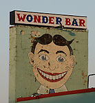 "Image of ""Tilly"" on a sign for the Wonder Bar in Asbury Park,  New Jersey. Photo By Bill Denver/EQUI-PHOTO"