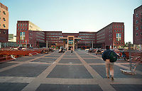 milano, quartiere bicocca, periferia nord. università --- milan, bicocca district, north periphery. university
