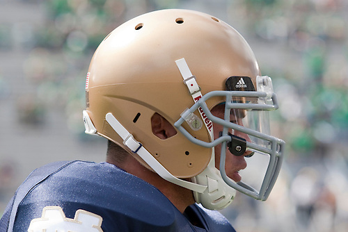 Notre Dame inside linebacker Manti Te'o (#5) in game action during NCAA football game between the Notre Dame Fighting Irish and the Purdue Boilermakers.  Notre Dame defeated Purdue 23-12 in game at Notre Dame Stadium in South Bend, Indiana.