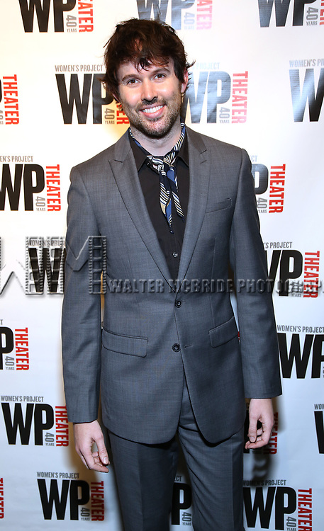 James Davis attends the WP Theater's 40th Anniversary Gala -  Women of Achievement Awards at the Edison Hotel on April 15, 2019  in New York City.