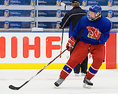 David Musil (Czech Republic - 6) - Team Czech Republic practiced at the Urban Plains Center in Fargo, North Dakota, on Saturday, April 18, 2009 in the morning prior to their final match against Sweden during the 2009 World Under 18 Championship.