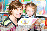 The only junior pupil to begin at Lenamore National School this week was Tara Lynch (4), pictured with her teacher and principal Annamarie O'Keeffe.   Copyright Kerry's Eye 2008
