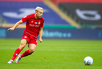 18th July 2020; Liberty Stadium, Swansea, Glamorgan, Wales; English Football League Championship, Swansea City versus Bristol City; Andreas Weimann of Bristol City controls the ball