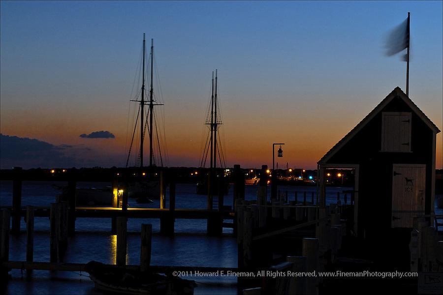 Pre-sunrise, Vineyard Haven Harbor, Martha's Vineyard