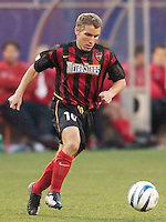 Richie Williams of the MetroStars. The Colorado Rapids lost to the NY/NJ MetroStars 2-1 on 5/3/03 at Giant's Stadium,East Rutherford, NJ.