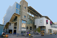The Emily Carr University of Art and Design on Granville Island, Vancouver, British Columbia, Canada