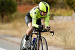 Mireia Trias Jordan (ESP) Sopela Women's Team in action during Stage 1 of the Ceratizit Madrid Challenge by La Vuelta 2019 running 9.3km individual time trial around Boadilla del Monte, Spain. 14th September 2019.<br /> Picture: Luis Angel Gomez/Photogomezsport | Cyclefile<br /> <br /> All photos usage must carry mandatory copyright credit (© Cyclefile | Luis Angel Gomez/Photogomezsport)