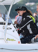 Kate, Duchess of Cambridge & Prince William enjoy sealegs craft - New Zealand