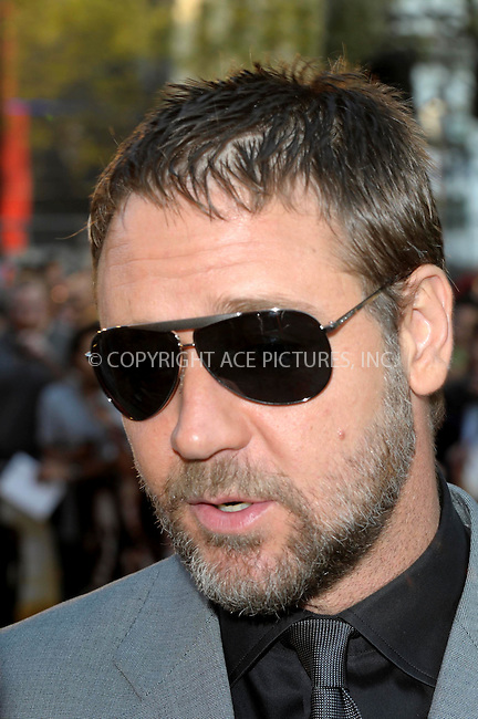 "WWW.ACEPIXS.COM . . . . .  ..... . . . . US SALES ONLY . . . . .....April 21 2009, London....Russell Crowe at the world premiere of ""State of Play"" held at The Empire Leicester Square on April 21 2009 in London....Please byline: FAMOUS-ACE PICTURES... . . . .  ....Ace Pictures, Inc:  ..tel: (212) 243 8787 or (646) 769 0430..e-mail: info@acepixs.com..web: http://www.acepixs.com"