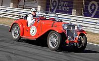 Nederland - Zandvoort - 8 juli 2018.  Het British Festival. Dit jaar staat het British Festival in het teken van de Grand Prix. Races op het Circuit van Zandvoort. Singer Le Mans Special Speed.     Foto Berlinda van Dam Hollandse Hioogte