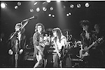 Michael Des Barres, Dweezil Zappa, Andy Taylor , Charlie Sexton & Patrick O'Hearn performing live at The Roxy in Hollywood , Ca 1986.