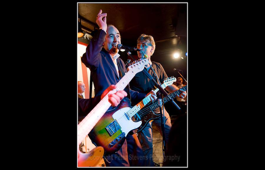 Mick Jones & Glen Matlock - Making the Modern Scene 2 - Terry Rawlings Benefit - 100 Club - 27-07-2009