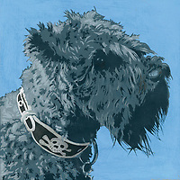 Painting of Scottish Terrier dog