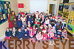 Children from junior, senior and first class from Kilcummin National School, who had a field day in Killarney National Park on Friday, and got to meet Santa during their visit...
