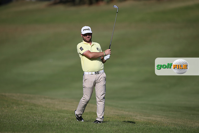 Andy Sullivan (ENG) plays second shot to 14 during Round One of the Africa Open 2015 at the East London Golf Club, East London, Eastern Cape, South Africa. Picture:  David Lloyd / www.golffile.ie. 05/03/2015