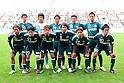 "FC/Matsumoto Yamaga FC team group line-up,SEPTEMBER 3, 2011 - Football / Soccer :Matsumoto Yamaga FC team group (Top row - L to R) Yusuke Sudo, Yuto Shirai, Mutsumi Tamabayashi, Kazuya Iio, Masato Katayama, (Bottom row - L to R) Tetsuya Kijima, Masahiro Ohashi, Lee Jong-Min, Kento Tsurumaki, Takayuki Funayama and Takumi Watanabe before the 91st Emperor's Cup first round match between Matsumoto Yamaga F.C. 3-0 Maruoka Phoenix at Matsumoto Stadium ""Alwin"" in Nagano, Japan. (Photo by AFLO)"