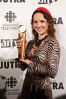 Jorane, winner Jutras - Best Music for UN DIMANCHE A KIGALI<br /> <br /> Gagnante Jutras - Meilleure musique pour  UN DIMANCHE A KIGALI<br /> <br /> <br /> photo : Pierre Roussel (c)  Images Distribution