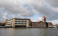 Nederland Zaandam 2016.  De oude Verkade fabriek aan de Zaan.  Foto Berlinda van Dam / Hollandse Hoogte