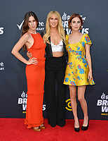 LOS ANGELES, CA - July 14, 2018: Scout Willis, Rumer Willis &amp; Tallulah Willis at the Comedy Central Roast of Bruce Willis at the Hollywood Palladium<br /> Picture: Paul Smith/Featureflash.com