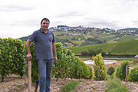 XXXX the winemaker. Domaine de la Perriere, Sancerre, Loire, France