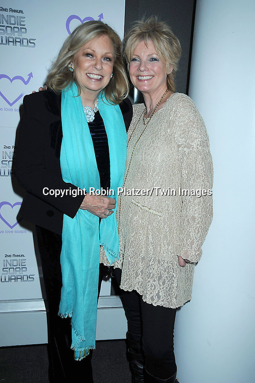 Tina Sloan and Ellen Dolan attending The 2nd Annual Indie Soap Awards on February 21, 2011 at The Alvin Ailey Studios in  New York City sponsored by We Love Soaps.