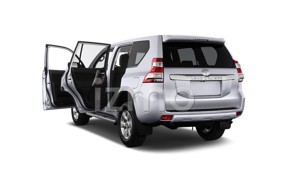 2013 Toyota Landcruiser 150 Comfort SUV 4WD Doors Stock Photo