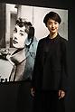 Kavka Shishido attends Audrey Hepburn photo exhibition in Tokyo