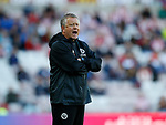 Chris Wilder manager of Sheffield Utdduring the Championship match at the Stadium of Light, Sunderland. Picture date 9th September 2017. Picture credit should read: Simon Bellis/Sportimage