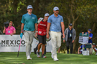 Bubba Watson (USA) and Brooks Koepka (USA) head down 16 during round 2 of the World Golf Championships, Mexico, Club De Golf Chapultepec, Mexico City, Mexico. 2/22/2019.<br /> Picture: Golffile | Ken Murray<br /> <br /> <br /> All photo usage must carry mandatory copyright credit (© Golffile | Ken Murray)