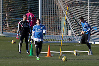 Iker Casillas during a sesion training at Real Madrid City in Madrid. January 23, 2015. (ALTERPHOTOS/Caro Marin) /NortePhoto<br />