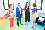 Vice Mayor of Madrid Begoña Villacis visits family support center . August 21, 2019. (ALTERPHOTOS/Francis González)