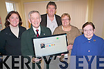 Kerry Life Education was short-listed in the Local authority members associations awards for their website which is used to get the work and message of the community drugs project to adults, teenagers and children. .L-R Directors of Kerry Life Education including Cllr Grace O'Donnell ,Cllr  Sean Grady, Project Manager Chris Barrow,  Chairperson Shelia Casey and Vice-Chair, Sr Kathleen.